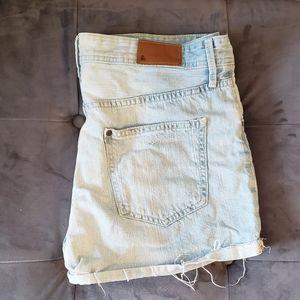 Light Wash H&M Shorts